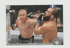 Georges St-Pierre UFC 2015 Topps Chronicles Silver#15