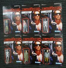 "The Terminator 3.75"" Funko Reaction Complete Full Set Retro Action Figure Lot 6"