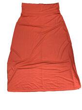 Bobbie Brooks Women's 1X Orange Skirt