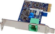 LSi HP Short Bracket PCI 56k AM3 Card 503095-001-LP Short Bracket Fax Modem