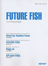 FUTURE FISH Anime Free OP & ED Piano Sheet Music Book