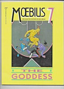 Moebius 7 The Goddess 1990 Epic Marvel SC GN Heavy Metal Art FN/VF 0871357143