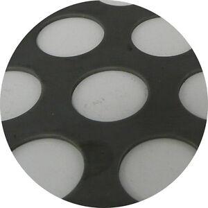 Mild Steel Perforated Sheet 2m x 1m x 1.5mm R20 T28 Bin 35 - 500115090