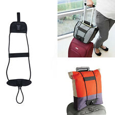 Add A Bag Strap Travel Suitcase Adjustable Belt Luggage Carry On Bungee Strap