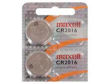 2 x Maxell CR2016 CR 2016 3V Pila Batteria Battery Blister Button Coin Cell