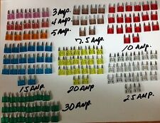 New 125pc MINI Blade Fuse Assortment (9 kinds of car fuses)