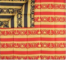 VERSACE Baroque Medusa Comforter King Size - quilted - Red/Black