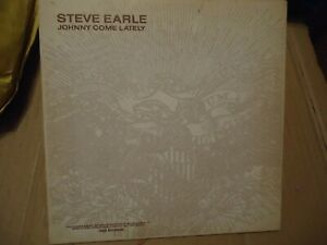 "Steve Earle Johnny Come Lately 7"" STILL SEALED, Never Played"