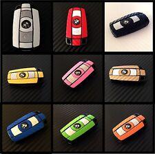 BMW Keys Carbon Decal Sticker Fob Wrap Overlay 1 3 5 6 Series Z4 X1 X3 X5 M Z E