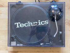 More details for technics sl-1210mk2 dj deck turntable - black