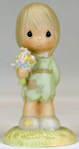 Precious Moments 'I Belong to the Lord' Figurine   1988   USED