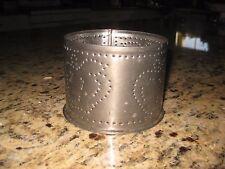 Tin Yankee Candle Apple Design Jar Candle Holder