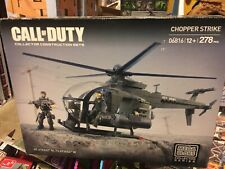 New - CHOPPER STRIKE - Mega Bloks CALL OF DUTY 06816 War Helicopter & Soldiers
