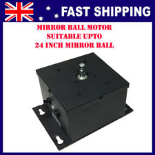 "Mirror Ball motor suitable upto 24"" mirror ball, 1rpm, max load 10kg"