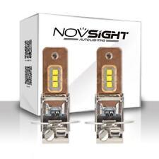 NOVSIGHT H3 60W 1800lm Car Led Headlights Fog Lights 6000K White Fog Bulb R7E8