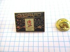 PINS VINTAGE GASPARD ALBERTVILLE 92 JEUX OLYMPIQUES OLYMPIC GAMES wxc 33*2