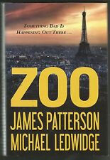 Zoo by James Patterson and Michael Ledwidge (2012, Hardcover) With Dustjacket
