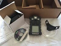 MSA altair 4X multigas Gas Monitor detector, O2,H2S,CO,LEL Charger/calibrated