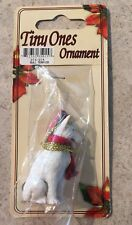Bull Terrier Ornament Mini Dog Tiny Ones by Conversation Concepts New