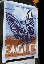 The Eagles 2008 Concert Poster Original Alltel Arena Arkansas Nm Ltd. Ed Of 500