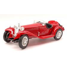 ALFA ROMEO 8C 2300 SPIDER 1932 RED 1:18 Burago Auto d'Epoca Die Cast Modellino