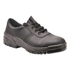 PortWest Hommes Chaussures De Travail O1 Noir Multi Taille FW19
