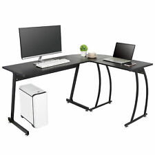 L Shaped Desk Corner Computer Gaming Laptop Table Workstation Office Desk 58