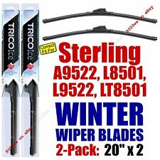 WINTER Wipers 2pk 1999 Sterling Truck A9522 L8501 L9522 LT8501 - 35200x2