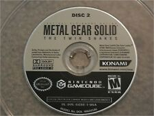 METAL GEAR SOLID TWIN SNAKES DISC 2 NINTENDO GAMECUBE GAME DISC ONLY
