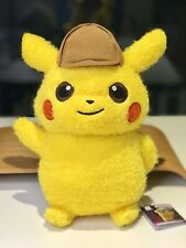 Bran New Detective Pikachu Plush Stuff Toy Pokémon Center Japan BANPRESTO Rare