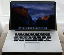 "Apple MacBook Pro ✔ 17"" Full Hd + ✔ 2.8Ghz Intel ✔ 8GB de RAM SSD ✔ 120GB y 1TB HDD"