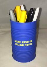Only Fools and Horses Some Kind of Yellow Stuff Oil Drum  Desk Tidy Pen Pot