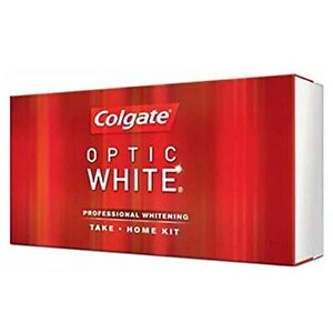 Colgate Optic White Gel Professional Whitening Take Home Kit 9% New Whiten Teeth