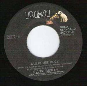 """ELVIS PRESLEY - Jailhouse Rock 7"""""""