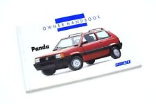 141 Fiat Panda 1991-2000 Owners manual Hand Book New & Genuine 148 pages