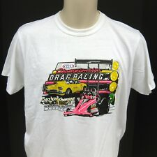 1990 NHRA Championship Drag Racing Saskatchewan Shirt Size Small 90s Vintage