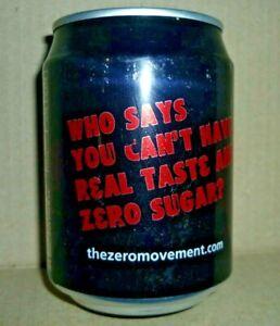 Collectable coca cola cans -  zeromovement.com Coca Cola zero 250ml can