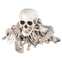 28 PCS Scary Halloween Prop Skeleton Bones Skull Set Haunted House Decoration