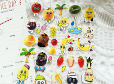 Fruit Mignon Kiwi Orange Banane autocollant Scrapbook carte DIY Journal