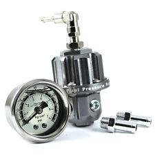 Add W1 Fuel Pressure Regulator Fpr Intercooler liquid gauge - Gunmetal #1289