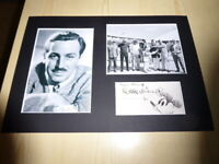 Walt Disney & Apollo-Soyuz Mickey Mouse mounted photographs preprint autograph