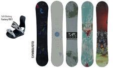 Snowboard inclusive Bindung Längen von 150 bis 160 cm zum Hammerpreis Neu