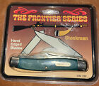 VINTAGE IMPERIAL SCHRADE FRONTIER SERIES STOCKMAN POCKET KNIFE NEW OLD STOCK