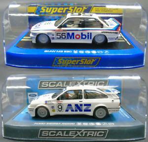 (C3910+H3929) Scalextric Bundle Set Ford Sierra BMW E30 1:32 Bathurst 1987/8 New