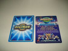 BANDAI DIGIMON THE MOVIE CARD-COMES WITH INSERT-MO