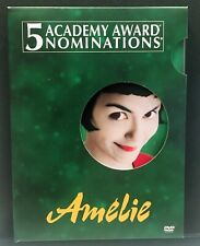 Amelie 2-Disc Set Special Edition Dvd Audrey Tautou Like New Free Shipping