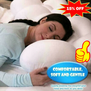 All-Round Sleep Pillow Egg Sleeper Memory Foam Soft Orthopedic Neck Pillow Pain
