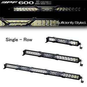 "IPF 10-30"" Lightbar LED 600 S-series Heavy-Duty Premium Single-Row from JAPAN"