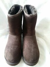AUTHENTIC UGGS BROWN BOOTS  SIZE 9