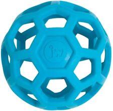 JW Holee Roller Tough Natural Rubber Durable Dog Tug Treat Ball Mini